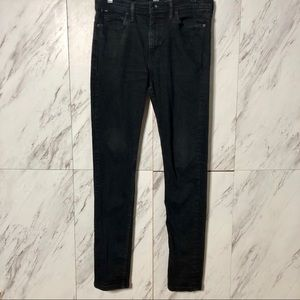 UO BDG Black Skinny Stretch Denim Jeans SZ 33